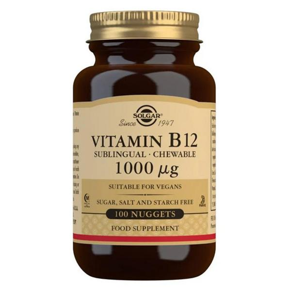 Vitamin B12 Nuggets salt free, sugar free, Vegan, yeast free