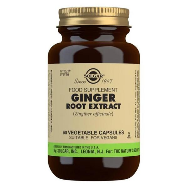 Ginger Root Extract salt free, sugar free, Vegan, yeast free, wheat free