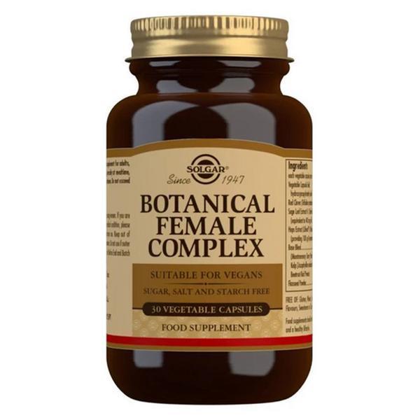 Botanical Female Complex Gluten Free, salt free, sugar free, Vegan, yeast free