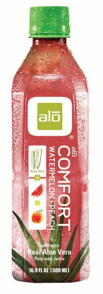 Aloe Vera,Watermelon & Peach Comfort Juice