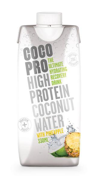 High Protein Pineapple Coconut Water