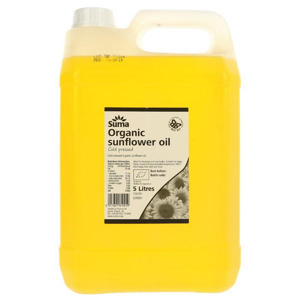 Virgin Sunflower Oil ORGANIC