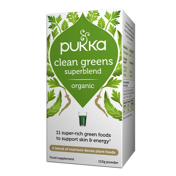 Clean Greens Powder Supplement Gluten Free, Vegan, ORGANIC