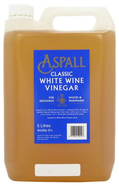 Classic White Wine Vinegar Gluten Free, Vegan