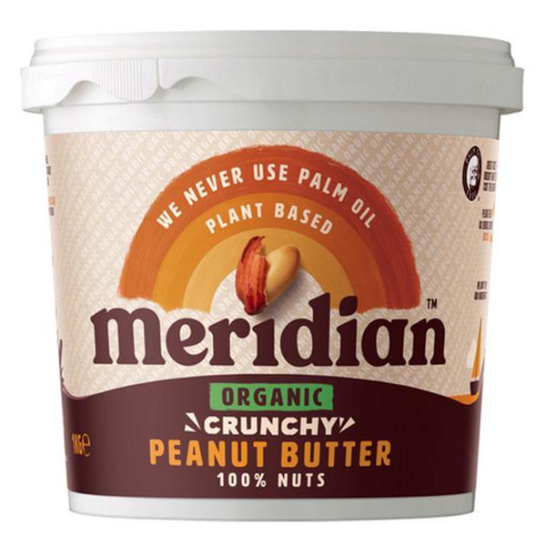Crunchy Peanut Butter no added salt, no sugar added, ORGANIC