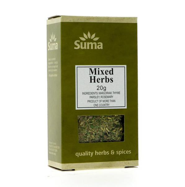Mixed Herbs Gluten Free, Vegan