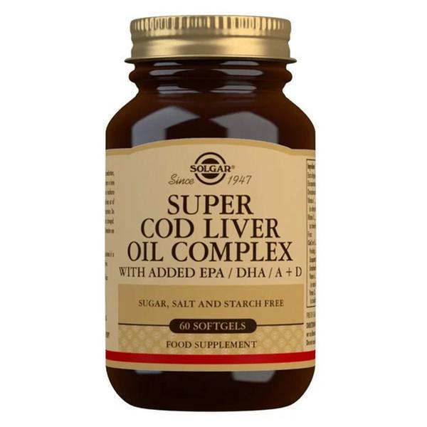Super Cod Liver Oil Complex Gluten Free