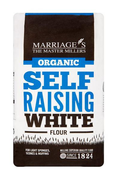 White Flour Self Raising ORGANIC