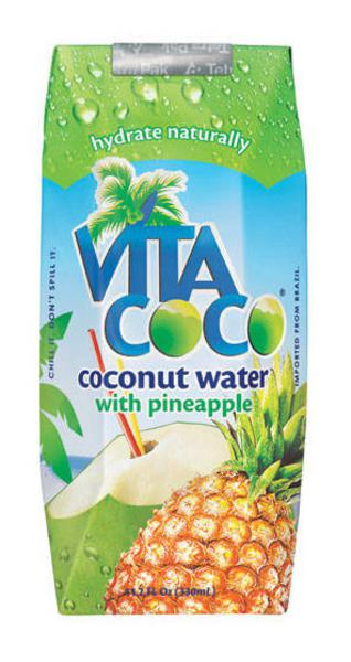 With Coconut Water Pineapple
