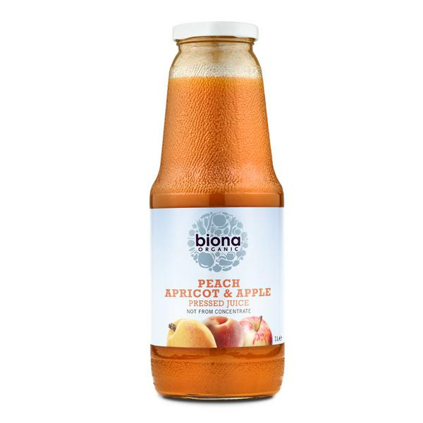 Peach,Apricot & Apple Juice Vegan, ORGANIC