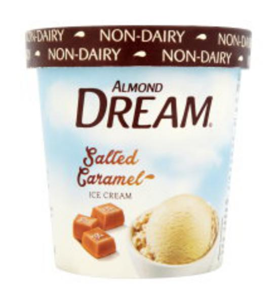 Salted Caramel Non-Dairy Ice Cream in 472ml from Almond Dream