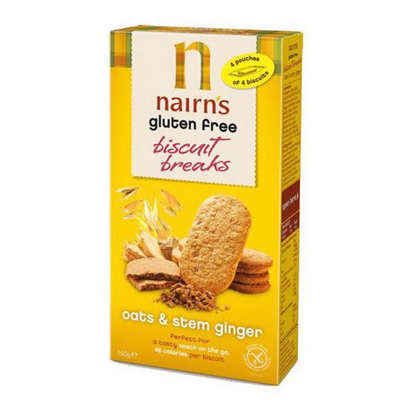 Oats & Stem Ginger Biscuits Gluten Free