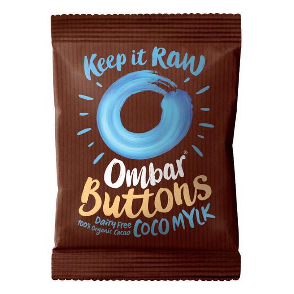 Coco Mylk Chocolate Buttons dairy free, Vegan, ORGANIC