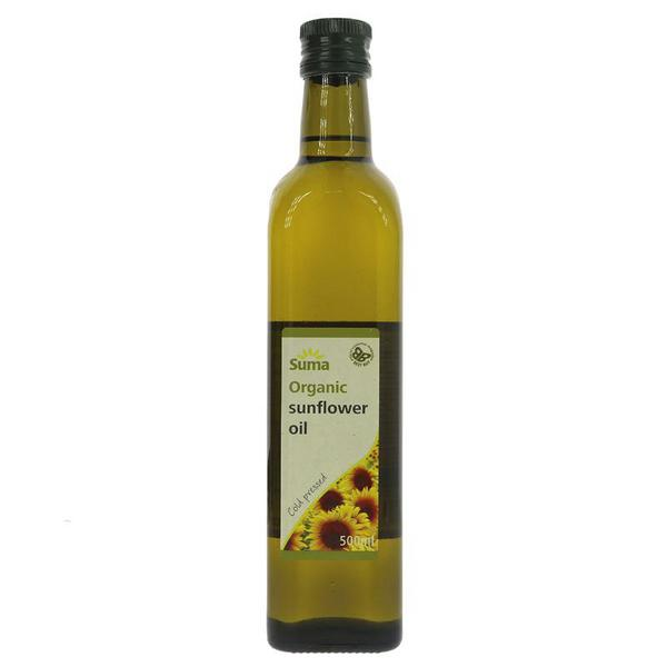 Sunflower Oil Cold Pressed ORGANIC
