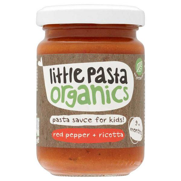 Organic Red Pepper And Ricotta Baby Food Sauce In 130g