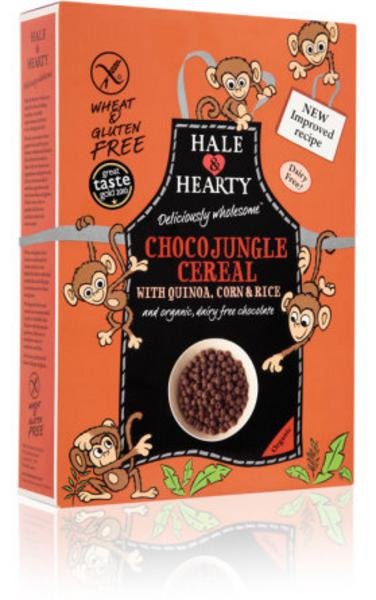 Choco Jungle Cereal Gluten Free, wheat free, ORGANIC