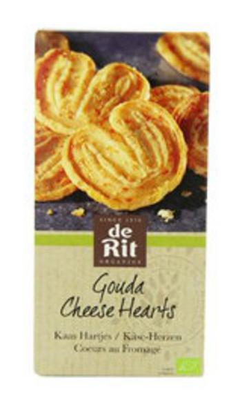 Gouda Cheese Hearts Biscuits ORGANIC
