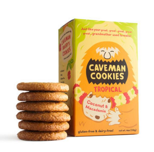 Tropical Cookies dairy free, Gluten Free