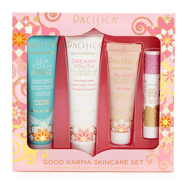 Skin Care Travel Pack Good Karma No Gluten Containing Ingredients, Vegan
