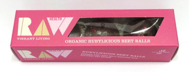 Rubylicious Beet Energy Balls Gluten Free, Vegan, ORGANIC