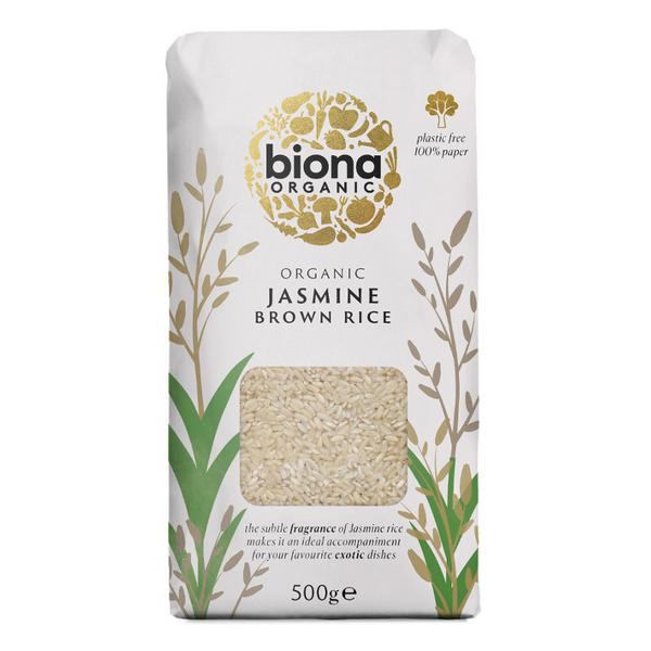 Jasmine Brown Rice Vegan, ORGANIC