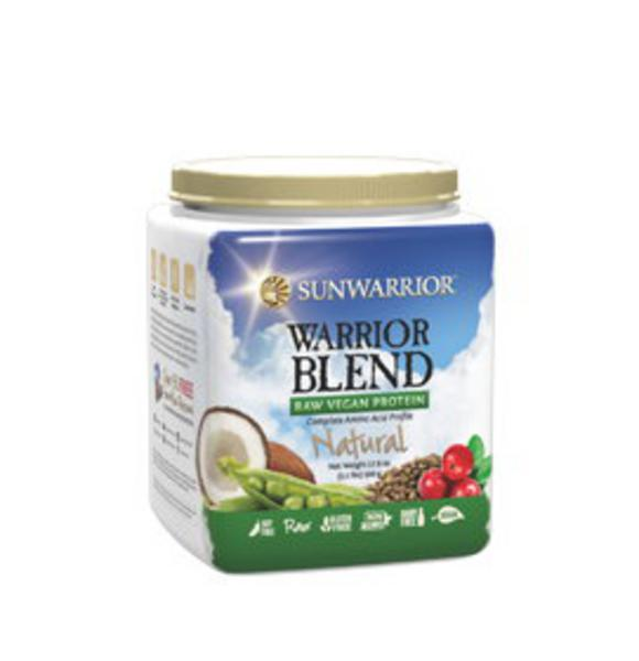 Natural Warrior Blend Raw Protein Gluten Free, Vegan