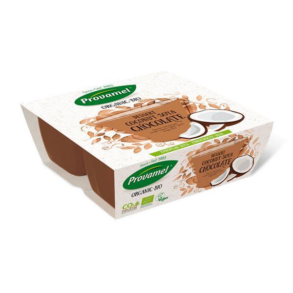 Coconut Choco Soya Dessert Gluten Free, Vegan, ORGANIC