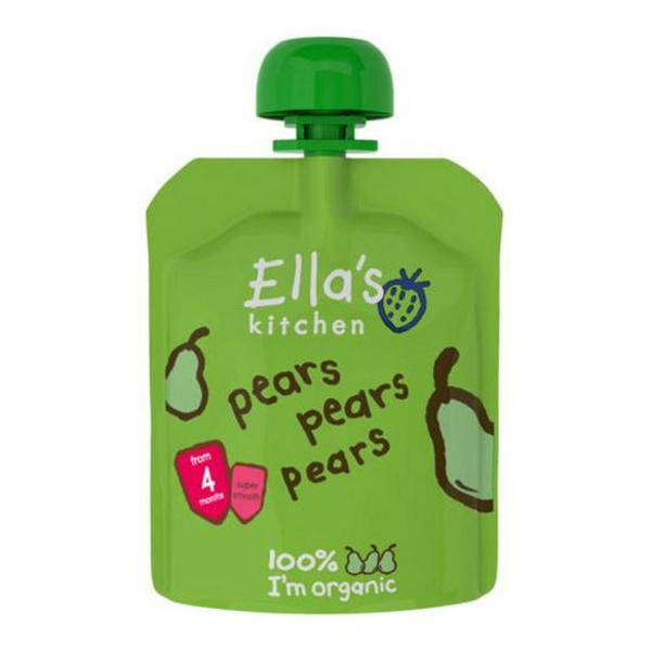 Pears Baby Food No Gluten Containing Ingredients, ORGANIC
