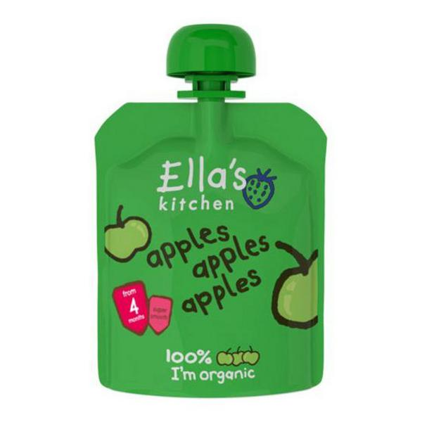 Apples Baby Food No Gluten Containing Ingredients, ORGANIC
