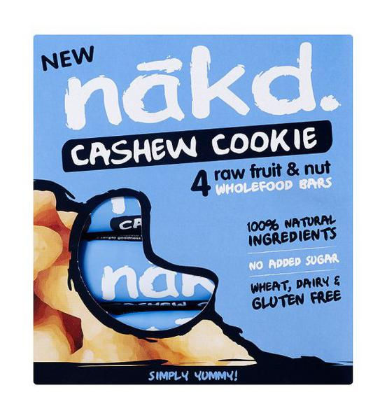 Cashew Cookie Snackbar Gluten Free, Vegan, wheat free