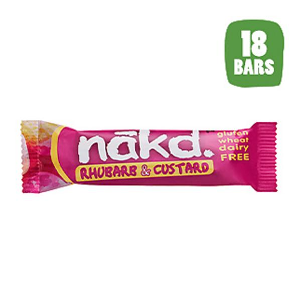 Rhubarb Custard Snackbar dairy free, No Gluten Containing Ingredients, wheat free