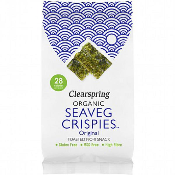 Sea Vegetable Crispies Nori Gluten Free, Vegan, ORGANIC