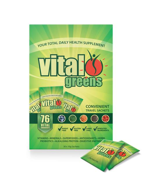 Vital Greens Supplement Powder Gluten Free, Vegan, ORGANIC