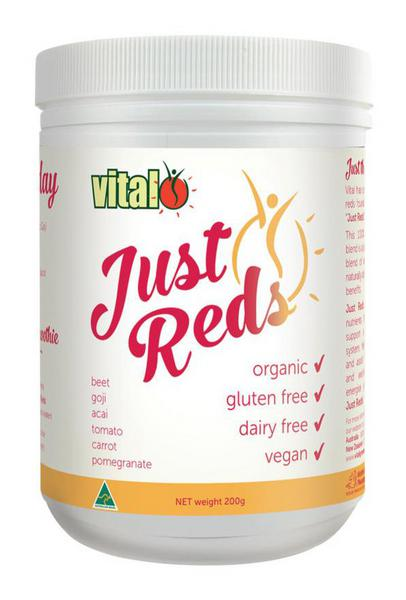 Just Reds Supplement Powder Gluten Free, Vegan, ORGANIC