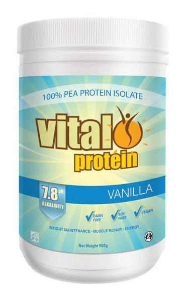 Vanilla Vital Protein Supplement Gluten Free, Vegan