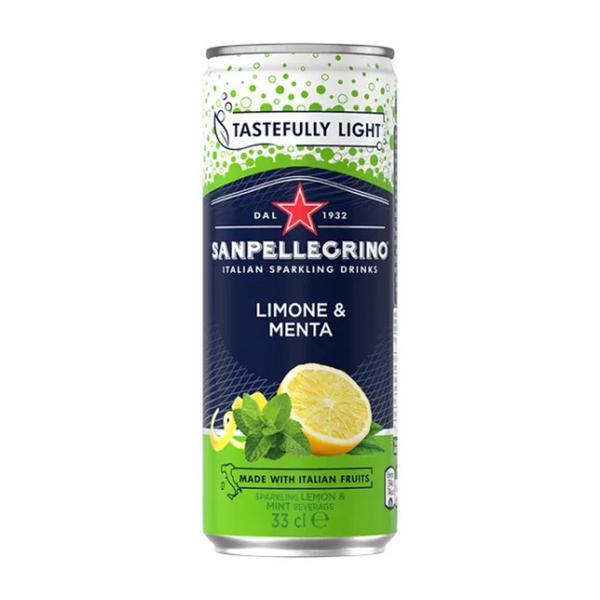 Limone e Menta Sparkling Drink