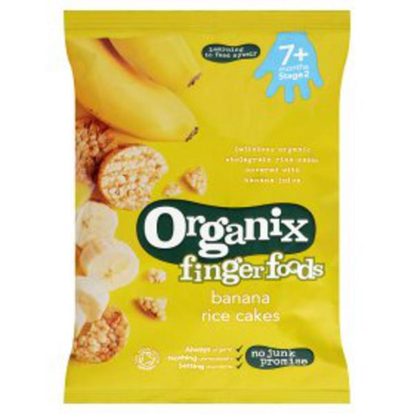 Banana Rice Cakes Gluten Free, Vegan, ORGANIC