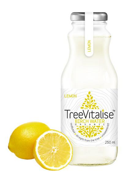 Birch Tree Water Lemon Gluten Free, Vegan, ORGANIC