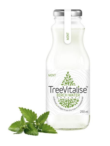 Birch Tree Water Mint Gluten Free, Vegan, ORGANIC