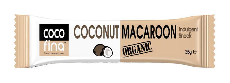 Coconut Macaroon Snackbar Vegan, ORGANIC