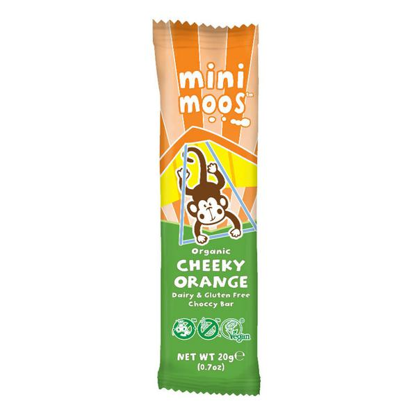 Alternative to Milk Chocolate Orange Mini dairy free, Vegan