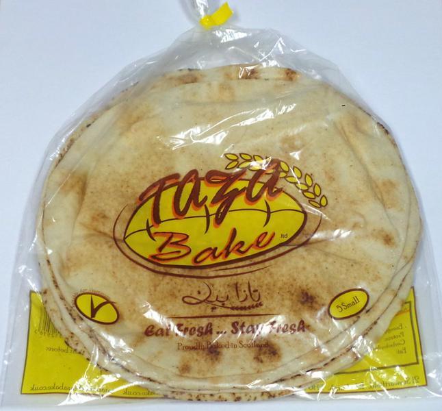 Mediterranean White Wrap Bread Khobez