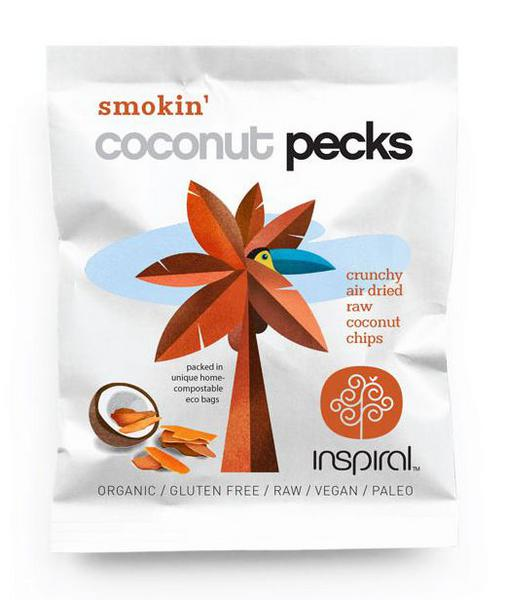 Coconut Smokin' Pecks Gluten Free, Vegan