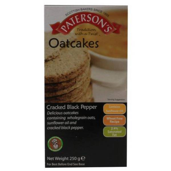 Cracked Black Pepper Oatcakes