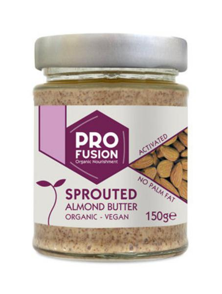Sprouted & Activated Almond Nut Butter no added salt, Vegan, ORGANIC