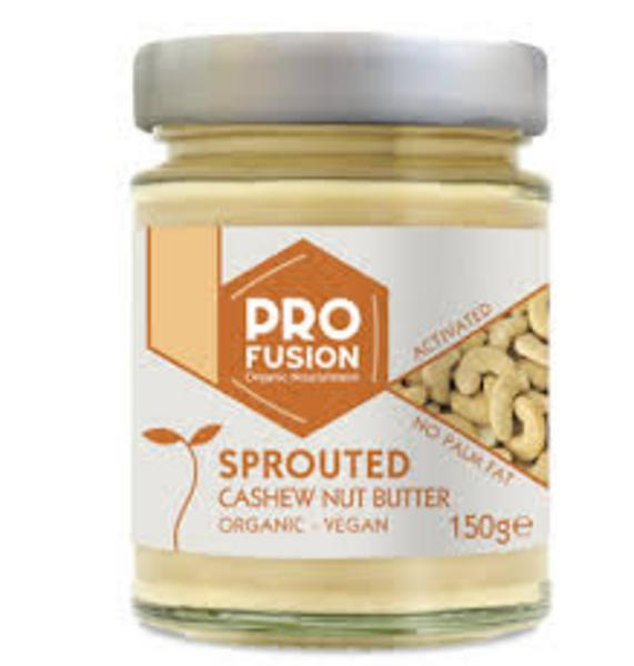 Sprouted & Activated Cashew Nut Butter no added salt, Vegan, ORGANIC