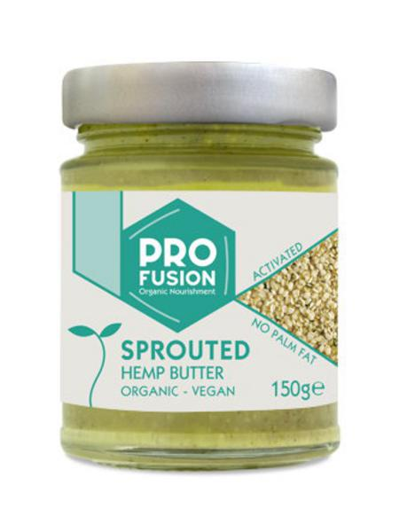 Sprouted & Activated Hemp Seed Butter no added salt, Vegan, ORGANIC