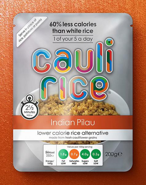 Indian Pilau Cauliflower Rice Gluten Free, Vegan