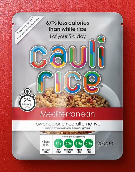 Mediterranean Cauliflower Rice Gluten Free, Vegan