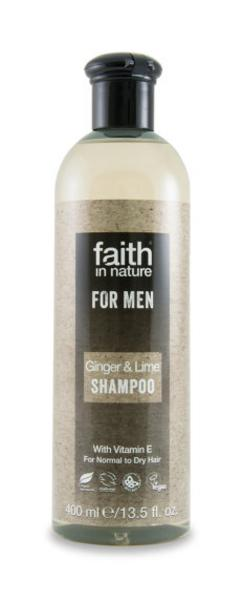 Ginger & Lime Shampoo Vegan